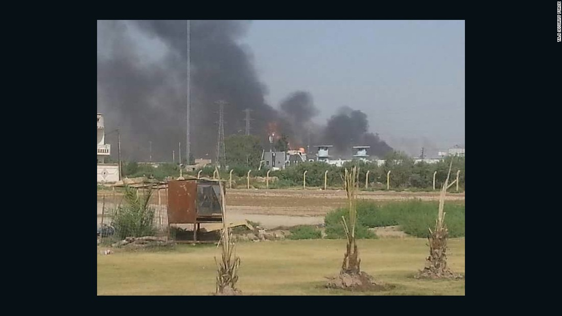 ISIS claims responsibility for attack on Baghdad gas plant