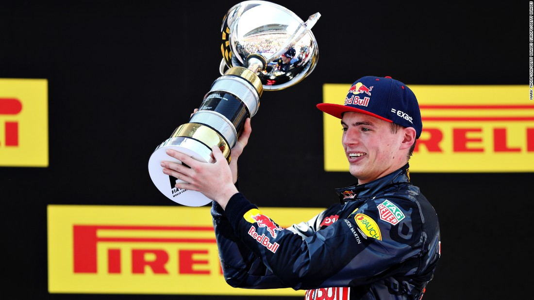 18-year-old Max Verstappen became the youngest ever winner in Formula One after victory at the Spanish Grand Prix.
