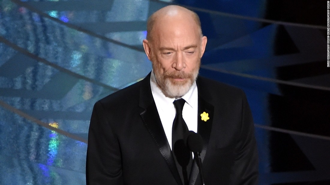 "Academy-Award winning actor and 1978 University of Montana alumnus J.K. Simmons told graduates of his alma mater to live in the moment, ""not dwell on the past, not be too anxious about the future,"" <a href=""http://missoulian.com/news/local/j-k-simmons-tells-university-of-montana-grads-to-live/article_e08ab20b-12c1-5cc3-8843-4e03bbc9f6eb.html"" target=""_blank"">according to the Missoulian</a>."