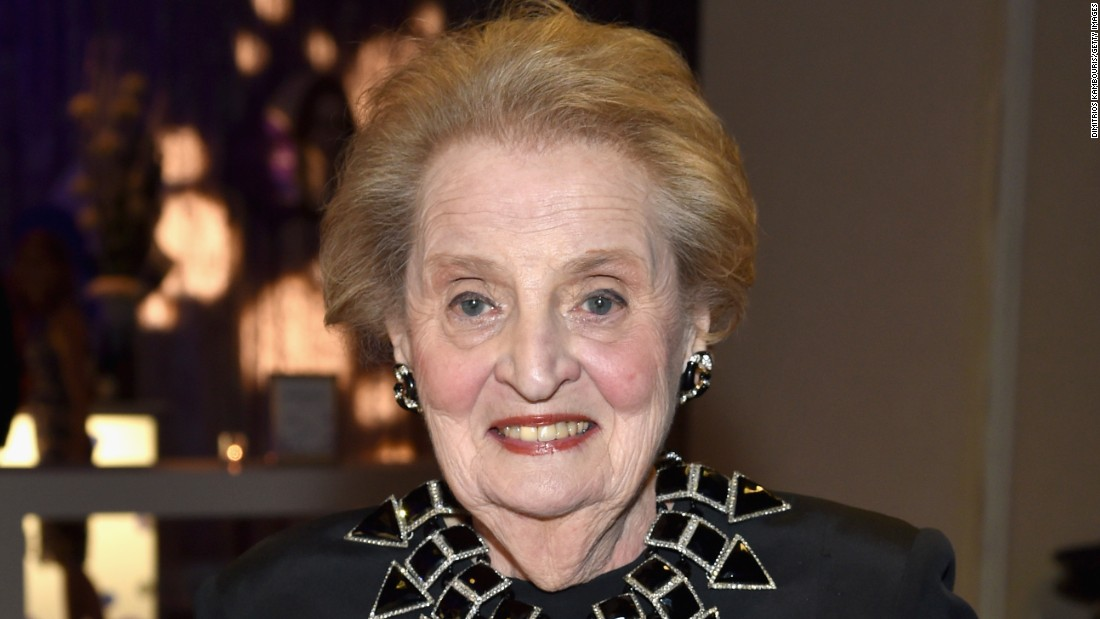 "Some students at Scripps College protested the choice of former United States Secretary of State Madeleine Albright as commencement speaker, in part because of her statement that ""there's a special place in hell"" for women who don't support Hillary Clinton's presidential campaign. She rose to the occasion on May 14, <a href=""https://www.scrippscollege.edu/commencement/speeches/former-secretary-of-state-madeleine-albright"" target=""_blank"">telling the crowd </a>""We should use our opinions to start discussions, not to end them."""