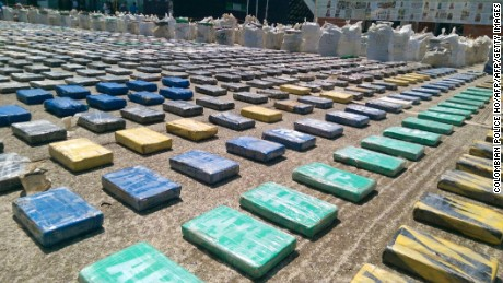 Colombia's largest drug seizure ever