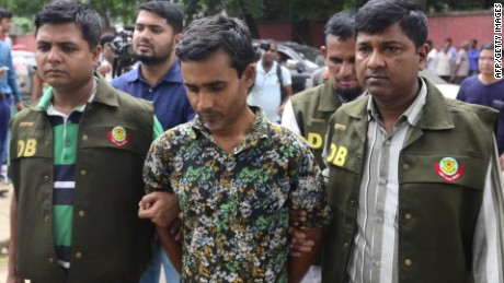 Bangladesh police have arrested 37-year-old Shariful Islam Shihab for his alleged connection with the hacking deaths of two LGBT-rights activists in April.