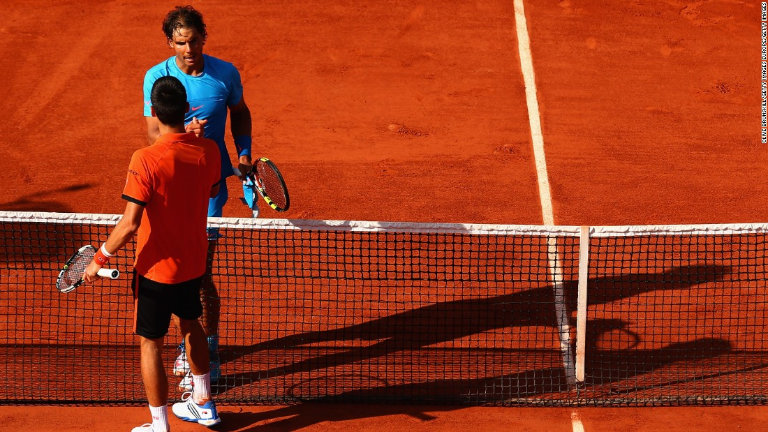 When they met at the French Open last year, Djokovic became only the second player to defeat Nadal at Roland Garros.