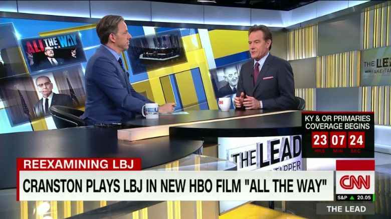 Breaking Bad's Bryan Cranston takes on LBJ role