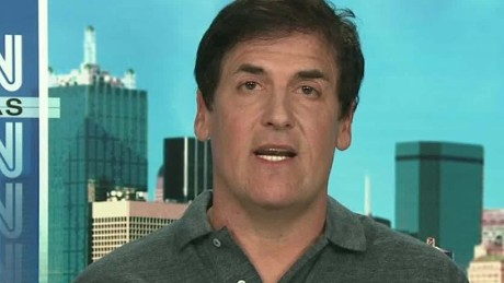Mark Cuban: I'd vote for Clinton over Trump