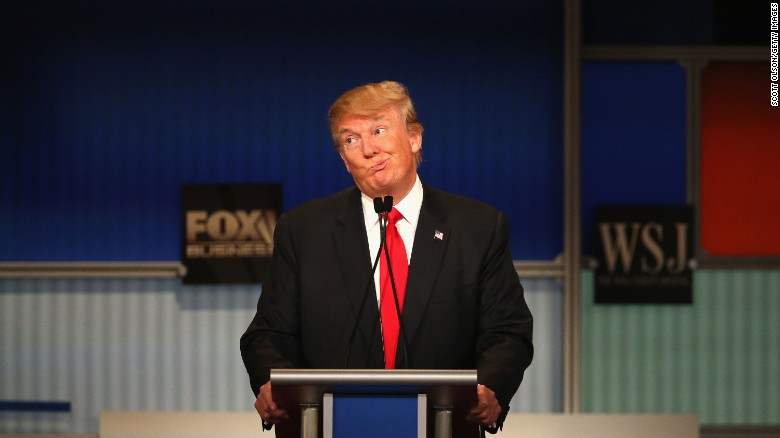 Trump, Forbes differ on candidate's net worth