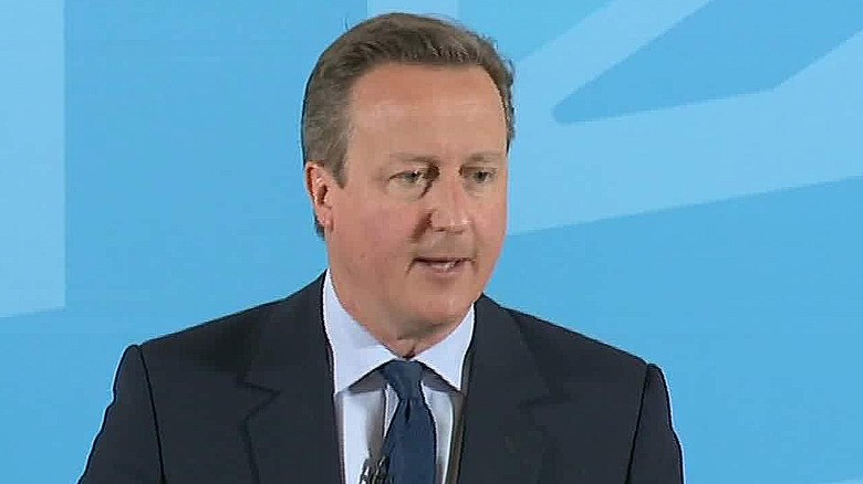 David Cameron: Brexit would please ISIS, Putin