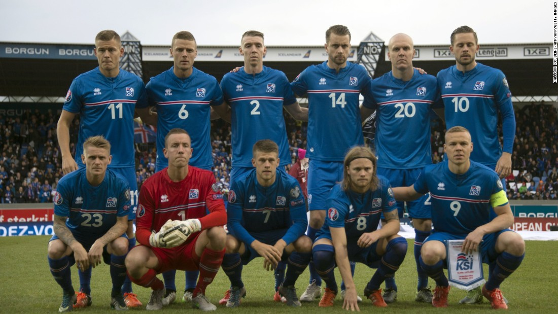 Entering Euro 2016 with team comprised of a population of just 330,000, Iceland became the smallest country to ever qualify for a major tournament.