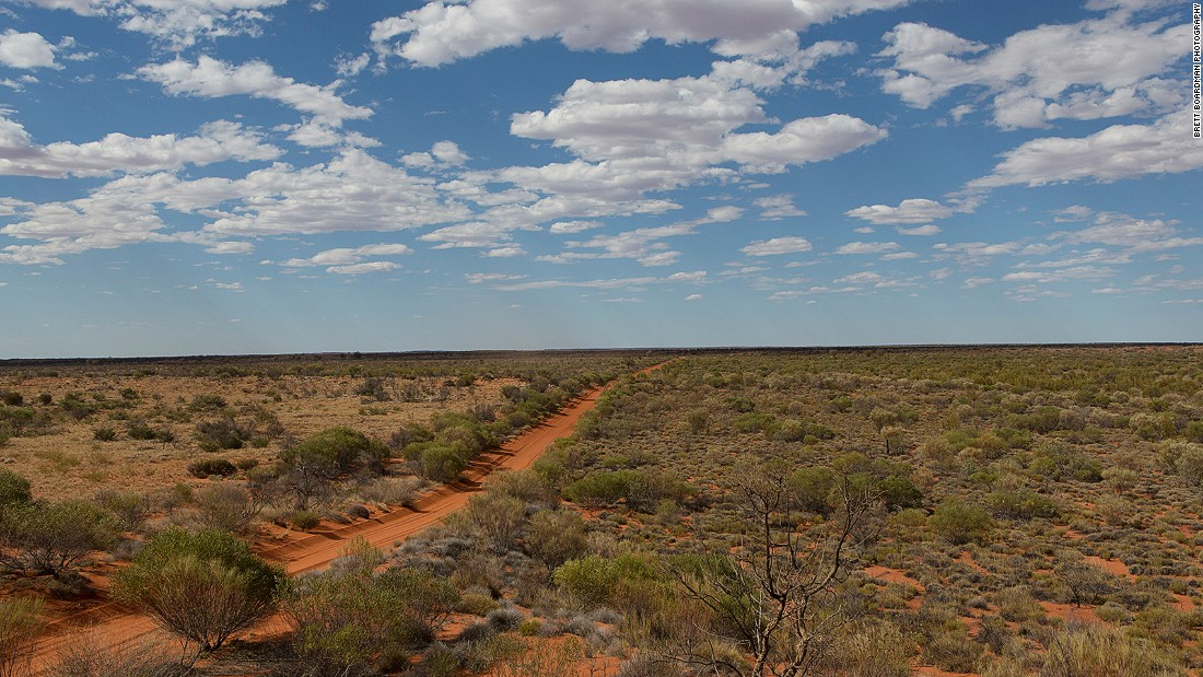 Australia's Gibson Desert is one of the harshest, most remote places on earth.