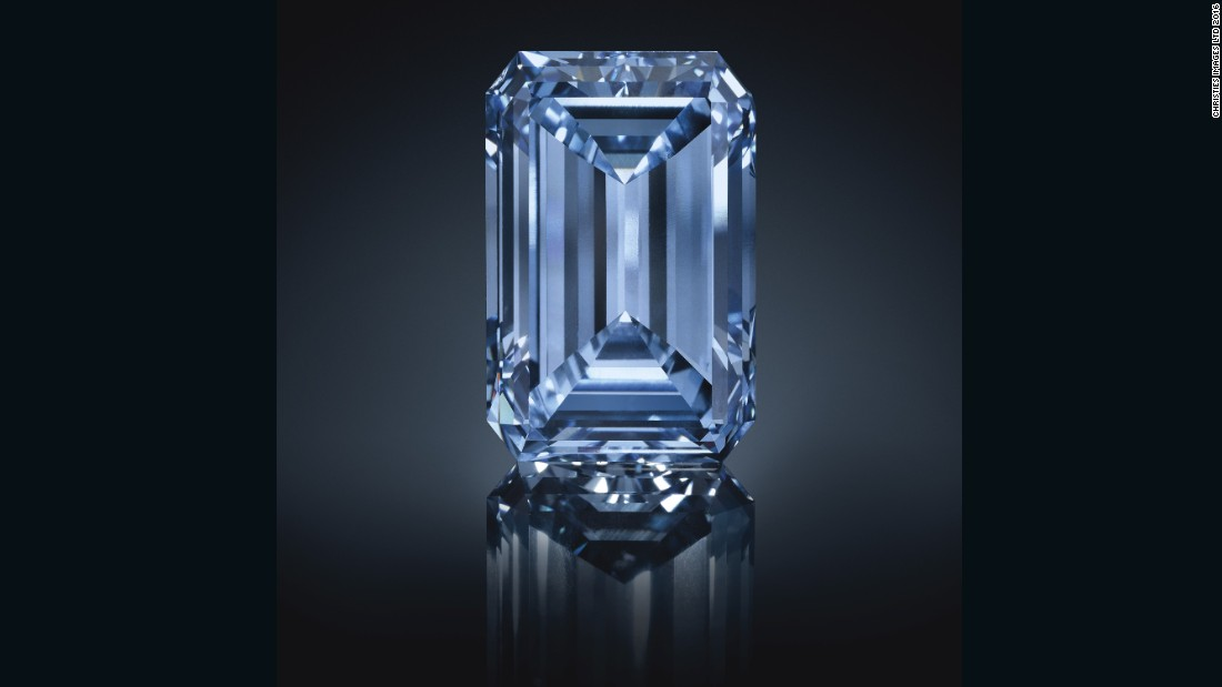 The World S Most Expensive Blue Diamond The Oppenheimer