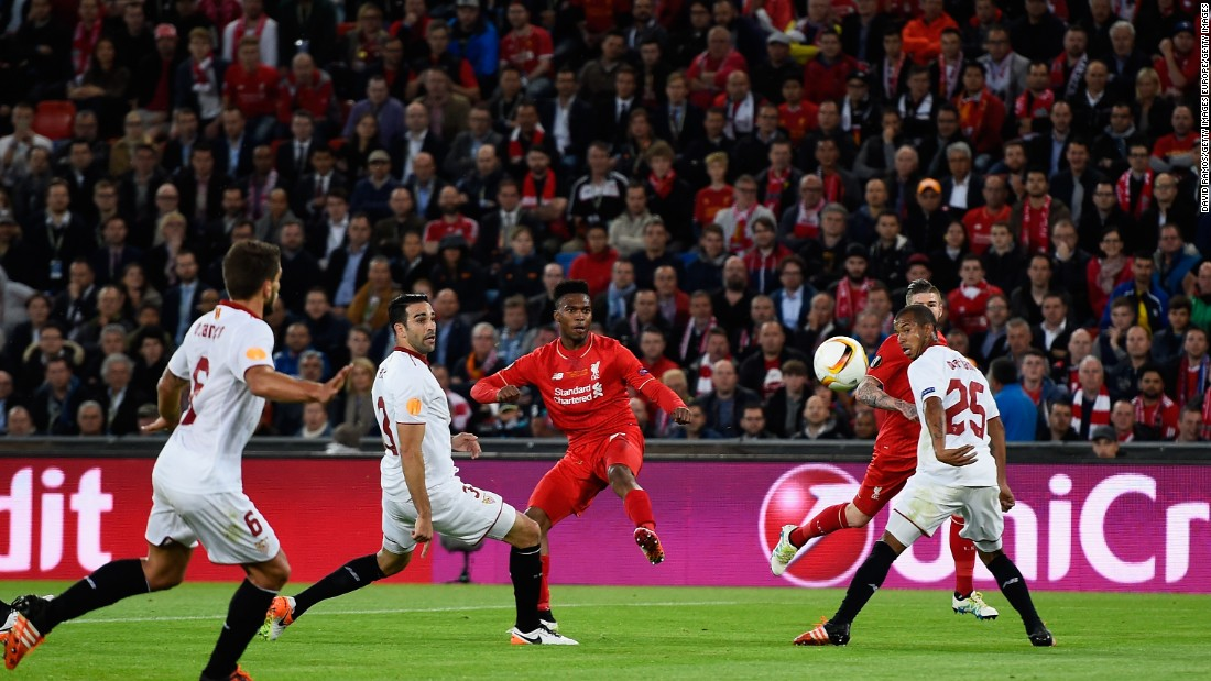 The Frenchman's strike canceled out Daniel Sturridge's exquisite first half goal for Liverpool.