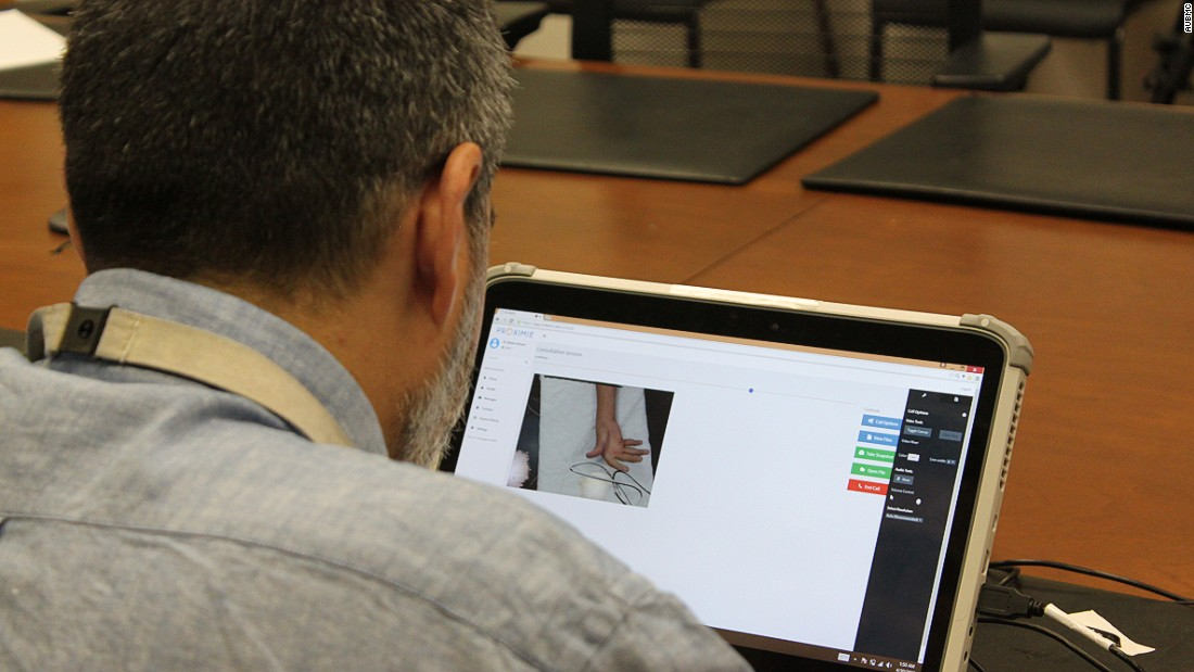 "<a href=""http://www.proximie.com/Augmented-Reality/"" target=""_blank"">Proximie</a> is a software that enables surgeons to lead operations from thousands of miles away using a computer, tablet or smart phone."
