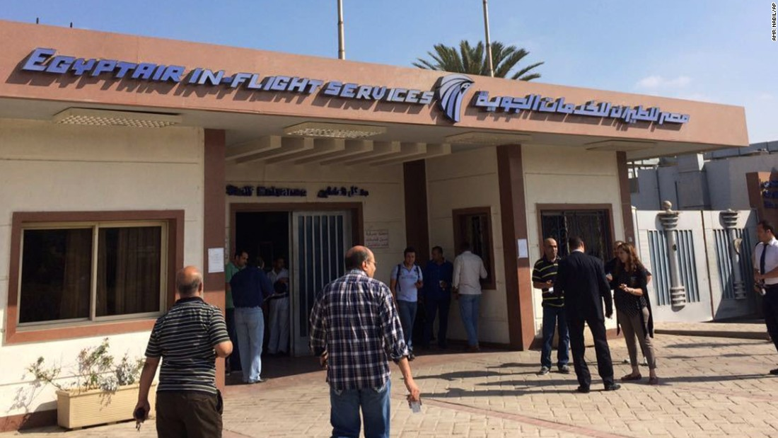 The EgyptAir in-flight service building in Cairo has been turned into a crisis center. Families have been provided with doctors and translators, the airline said.