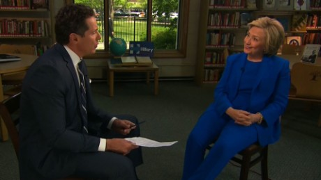 Hillary Clinton full CNN interview (part 1)