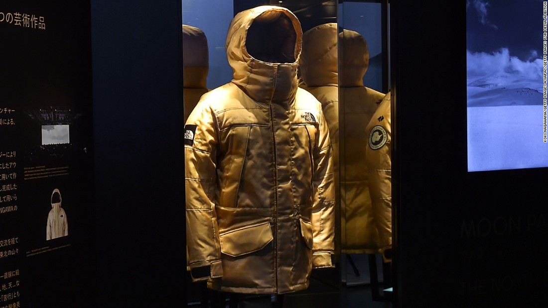 Synthetic silk is also being developed for sustainable textiles. This North Face jacket was made with imitation spider silk by Japanese company Spiber.