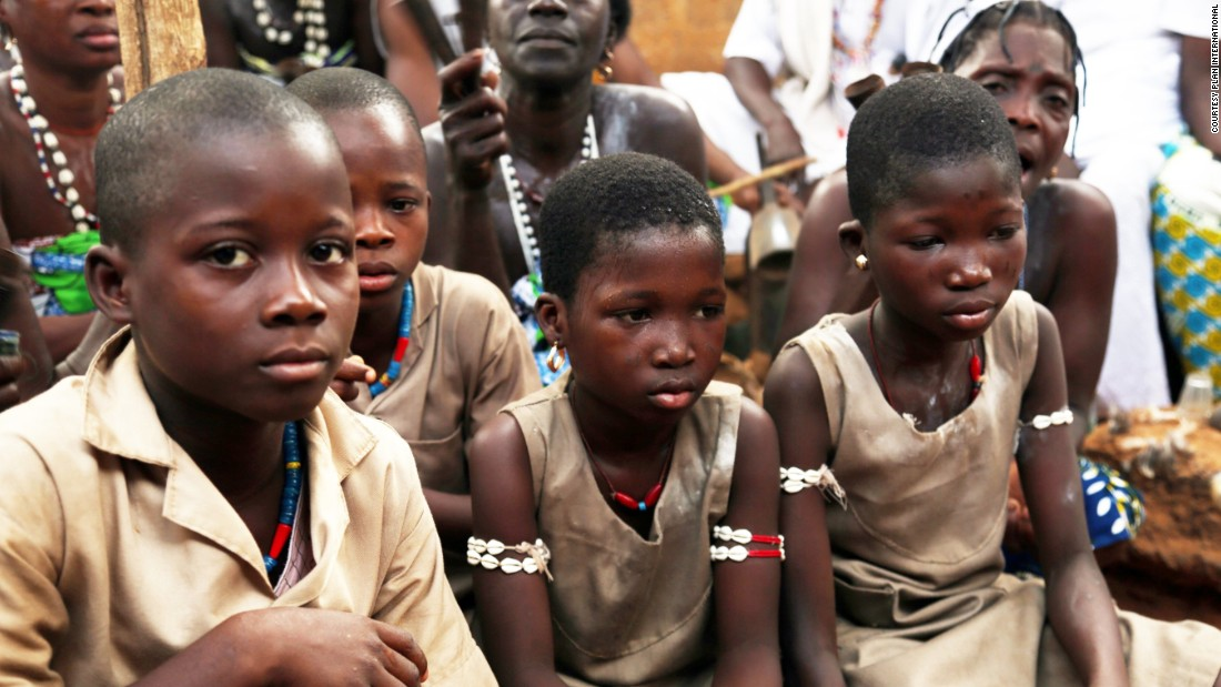 Between September and October 2015, 310 children (193 girls and 117 boys) were released from voodoo convents in Benin as a result of the work of non-governmental organizations Plan International and ReSPESD.