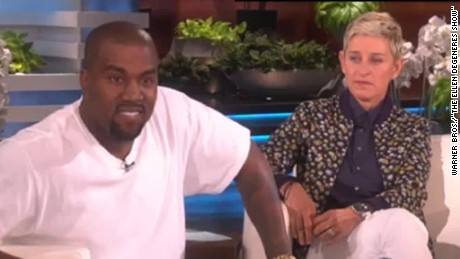 Kanye on 'Ellen': 'I'm sorry for the realness'