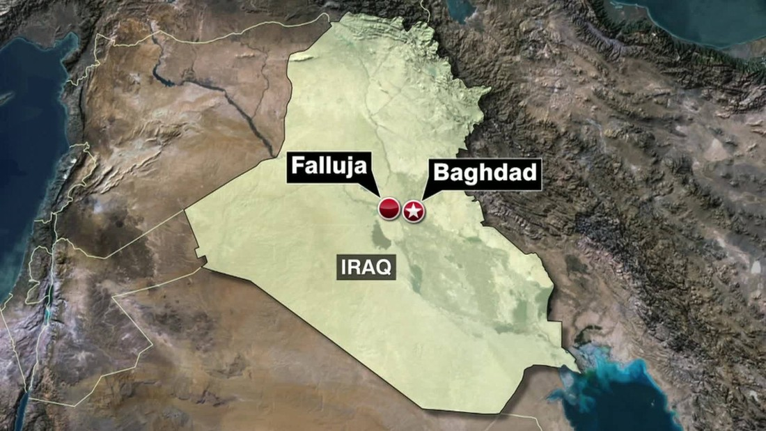 ISIS fights back after Iraqi forces surround Falluja, military says