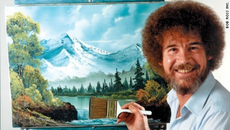 The work of beloved TV artist Bob Ross is finally being recognized in an exhibition