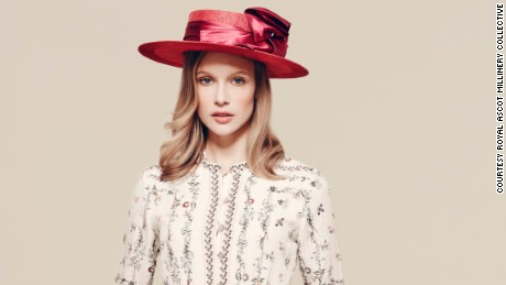 Hat by Laura Apsit Livens £720 ($1,050), available from Fenwicks.