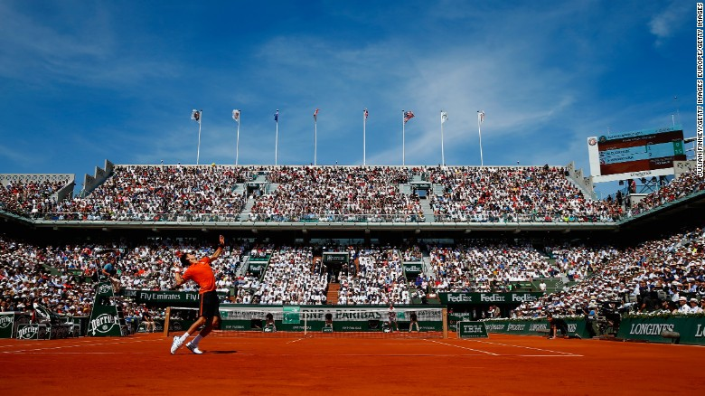 Red clay and no roof: The unique Roland Garros