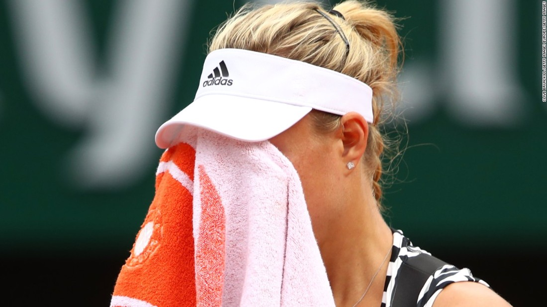Another grand slam winner, Angelique Kerber, fell in her opener to Kiki Bertens. She was troubled by a shoulder injury and needed to take a medical timeout.