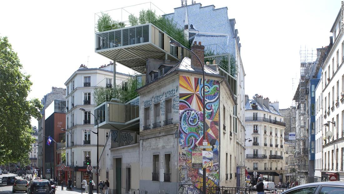 Parasite properties are taking over Paris