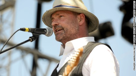 Gordon Downie performs during Day 3 of the Coachella Valley Music & Arts Festival 2011 held at the Empire Polo Club on April 17, 2011 in Indio, California.