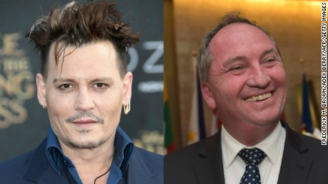 Actor Johnny Depp has directed fresh insults at Australia's Deputy Prime Minister Barnaby Joyce.