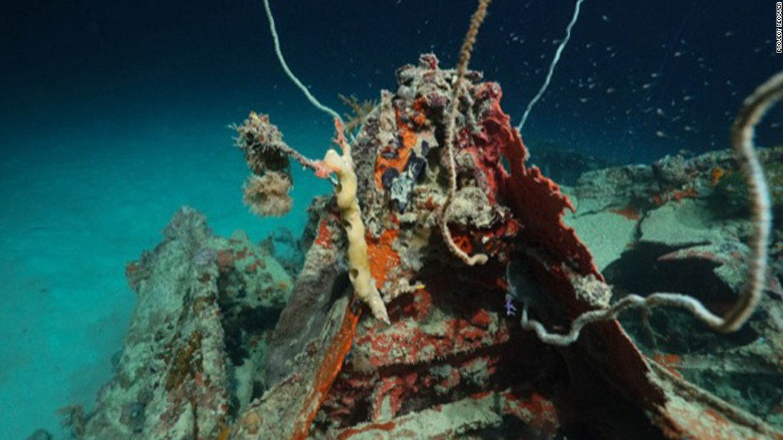 Downed WWII bomber found in Pacific 72 years later