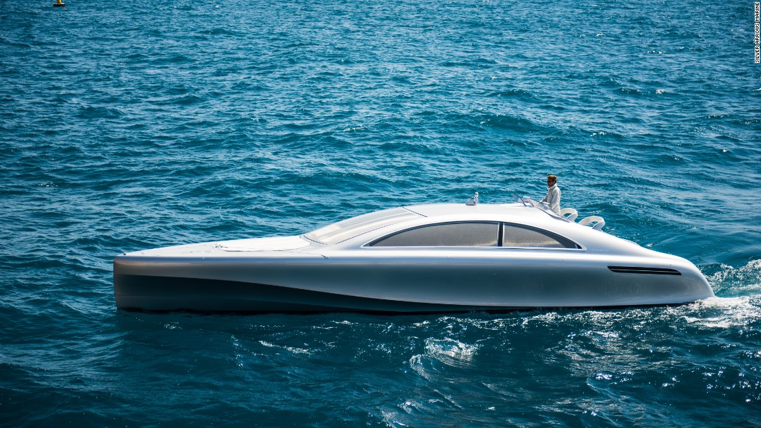 Always wanted to take your Mercedes-Benz out for a spin on the water? Well, thanks to the Arrow460-Granturismo, now you can.