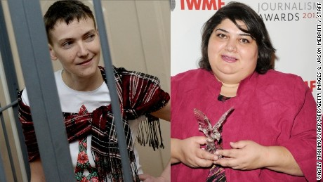 Nadiya Savchenko and Khadija Ismayilova free at last
