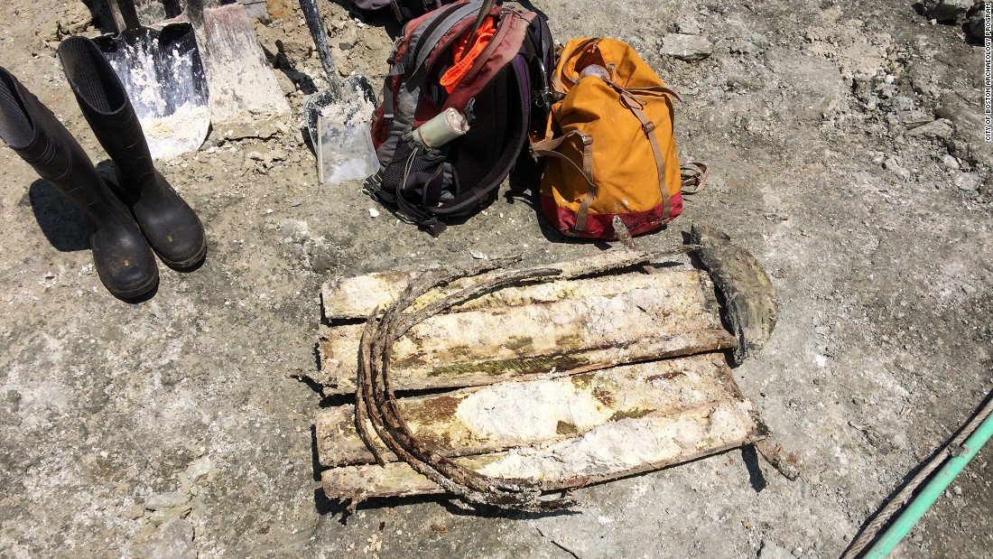 """This is the first shipwreck that I know of in Boston discovered in filled land,"" Bagley told CNN affiliate WBZ. ""This is the largest and most significant by far."""