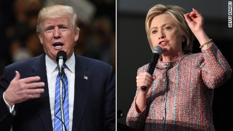 Polls: Trump, Clinton in dead heat