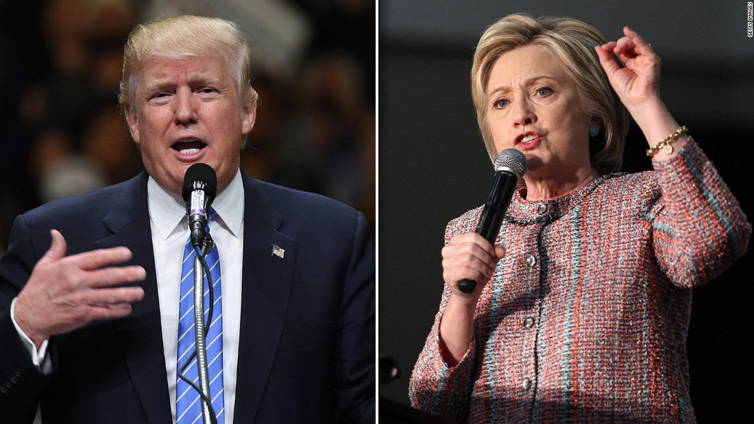 CNN Poll of Polls: Two points separate Clinton and Trump