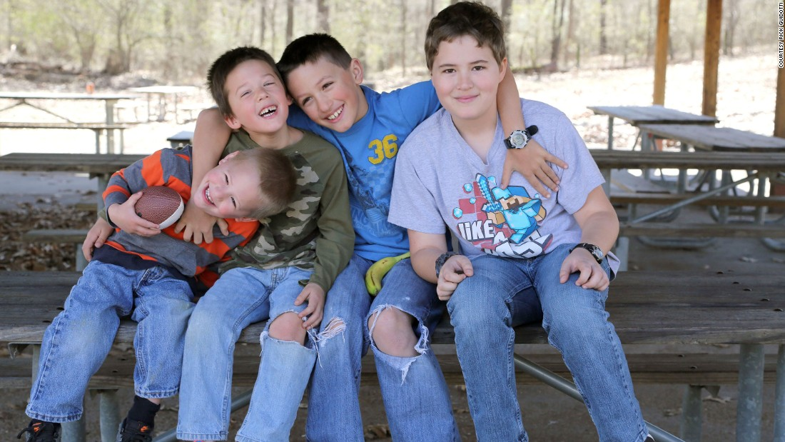 "Ezra, Noah, Judah and Josiah Dover are also ALL survivors. <br />According to their parents, ""rare cancer can be an isolating experience because many do not know anyone else who has walked the same path, and therefore don't understand the challenges they face. We'd like our story to offer hope for families who find themselves on that same path."""