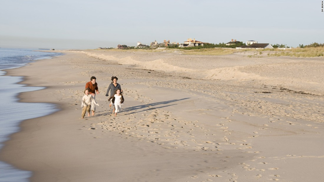 Coopers Beach is located in tony Southampton, on the south shore of Long Island, New York. Its white quartz sand offer some of the best public beach access in the Hamptons.