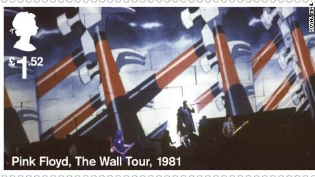 Pink Floyd lands Royal Mail stamp collection