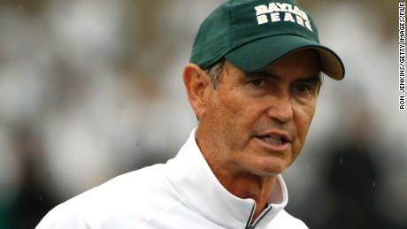 Baylor University says it has suspended and plans to fire football coach Art Briles.