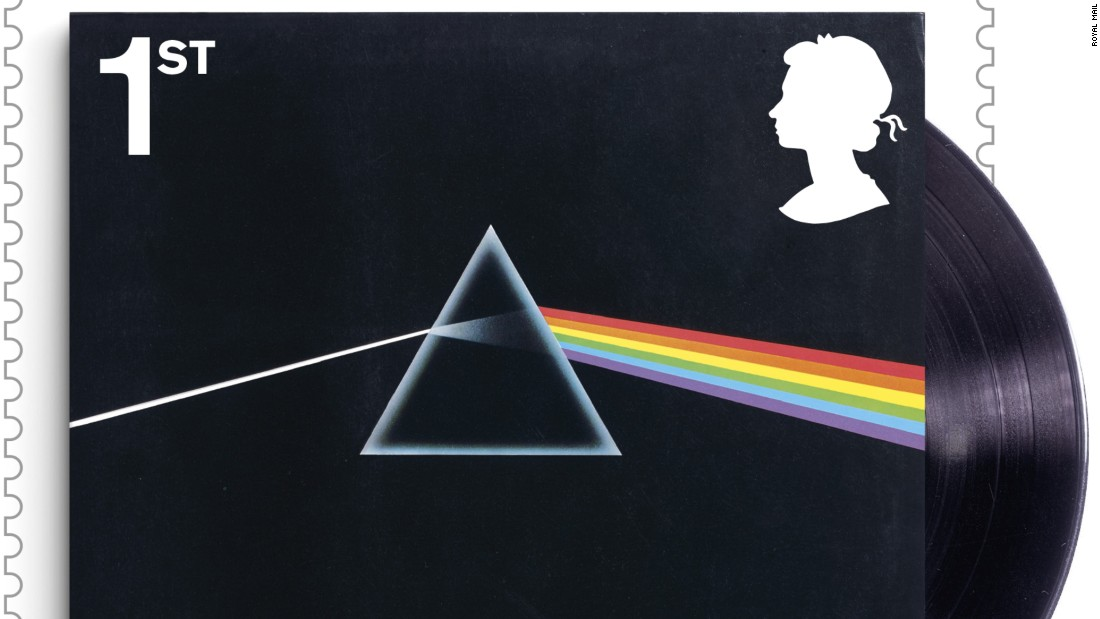 """The Dark Side of The Moon"" album cover, released by EMI Harvest in 1973"