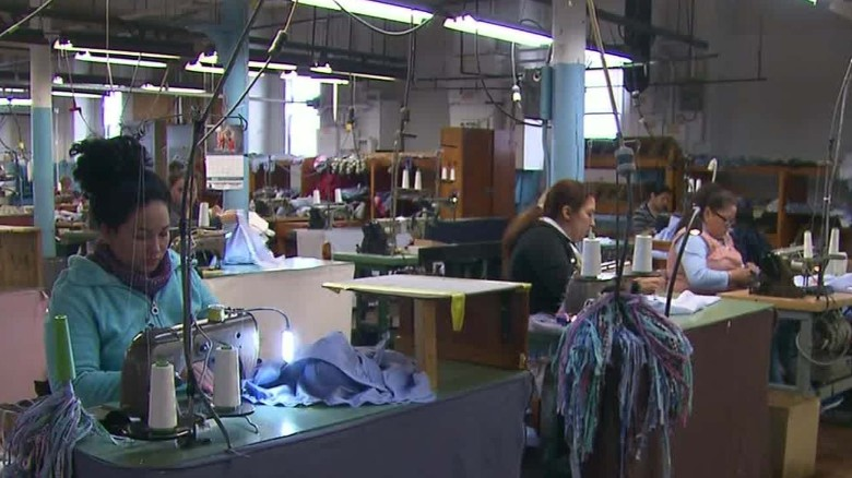 Trump sought cheap labor overseas for clothing line