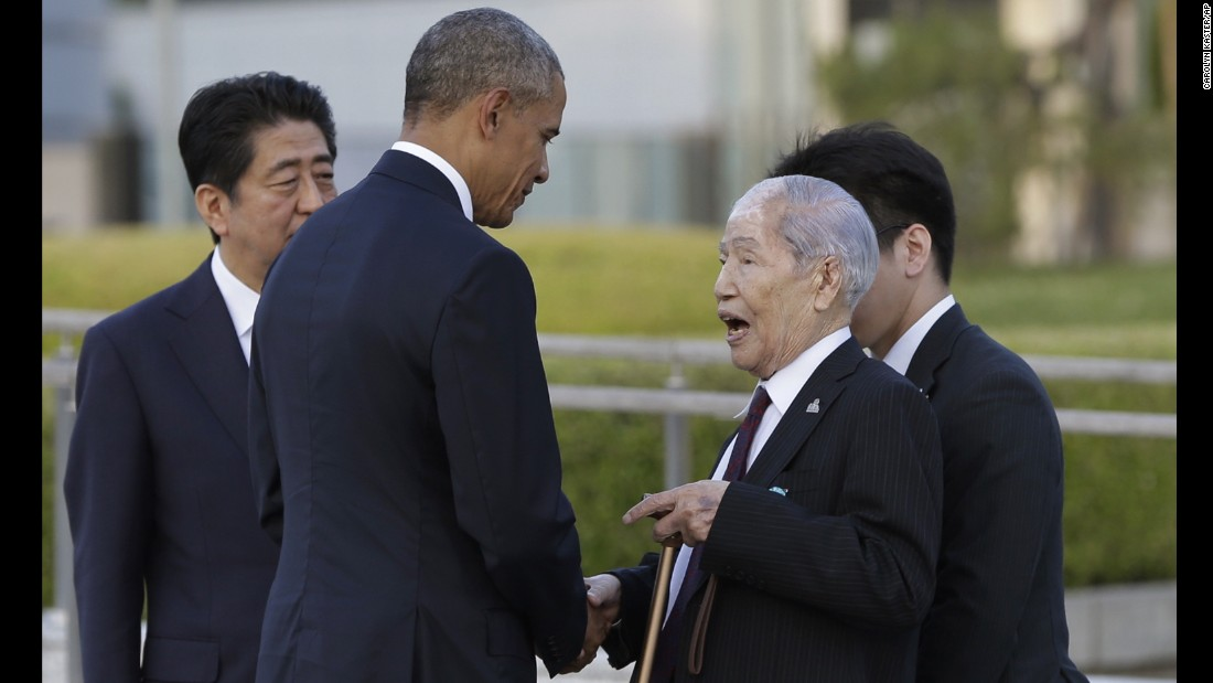 Obama in Hiroshima calls for 'world without nuclear weapons'