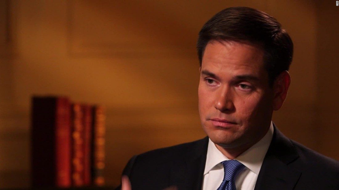 Marco Rubio: I'd 'maybe' run for re-election if my friend wasn't