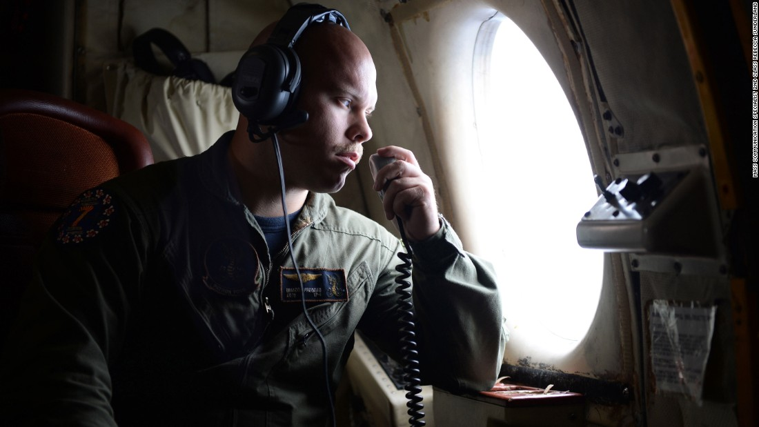 "Aircrewman Operator 2nd Class Brandon Fregeau searches for <a href=""http://www.cnn.com/2016/05/26/middleeast/egyptair-airbus-signals-detected/"" target=""_blank"">EgyptAir Flight</a> <a href=""http://www.cnn.com/2016/05/26/middleeast/egyptair-airbus-signals-detected/"" target=""_blank"">804</a> from a patrol aircraft provided by the U.S. Navy on Friday, May 20. Some of the wreckage was found north of Alexandria, Egypt, the next day. There were 66 people on the plane when it crashed during a flight from Paris to Cairo."