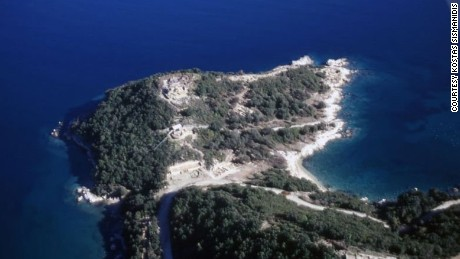 Aristotle died in Chalcis on the island of Euboea.