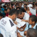 fiji sevens team celebrations in suva