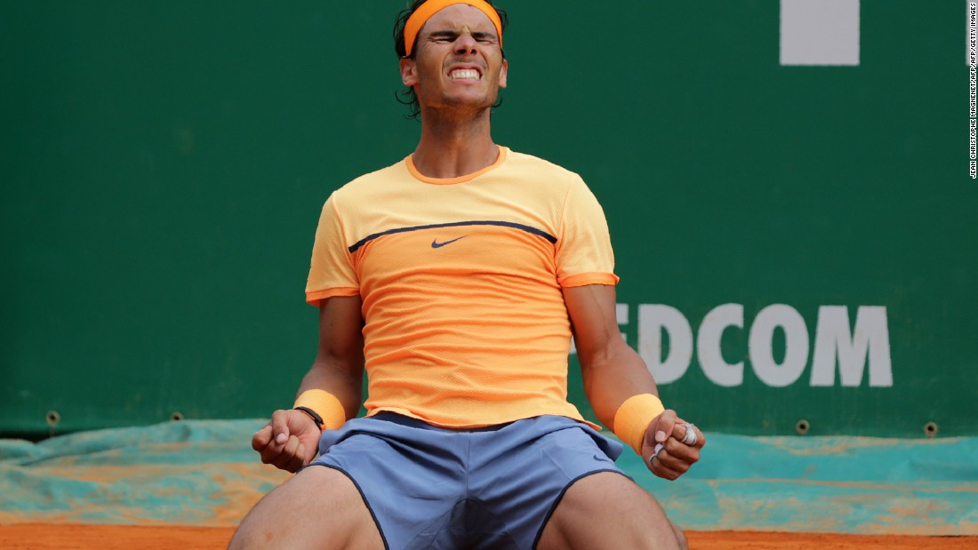 Just last month, Nadal was riding high. First he won the title in Monte Carlo ...