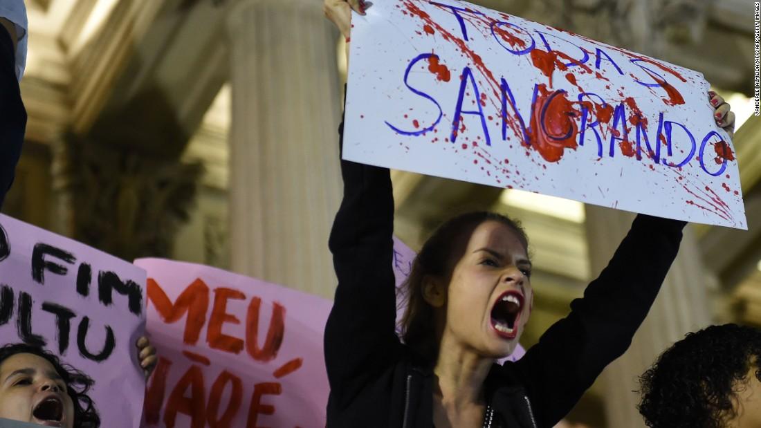 Brazilian teen speaks out about brutal gang rape