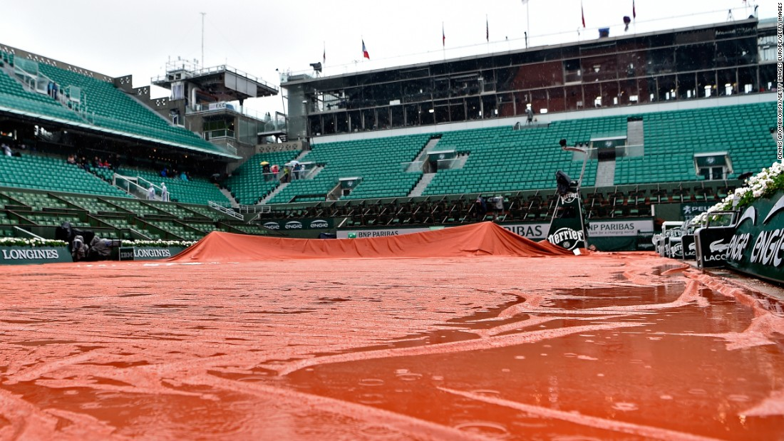 Top seeds Novak Djokovic and Serena Williams had been due to take to the court. Their fourth-round matches were rescheduled for Tuesday. Djokovic is seeking to become the first tennis player to win $100 million in prize money, as well as completing his collection of grand slam titles.