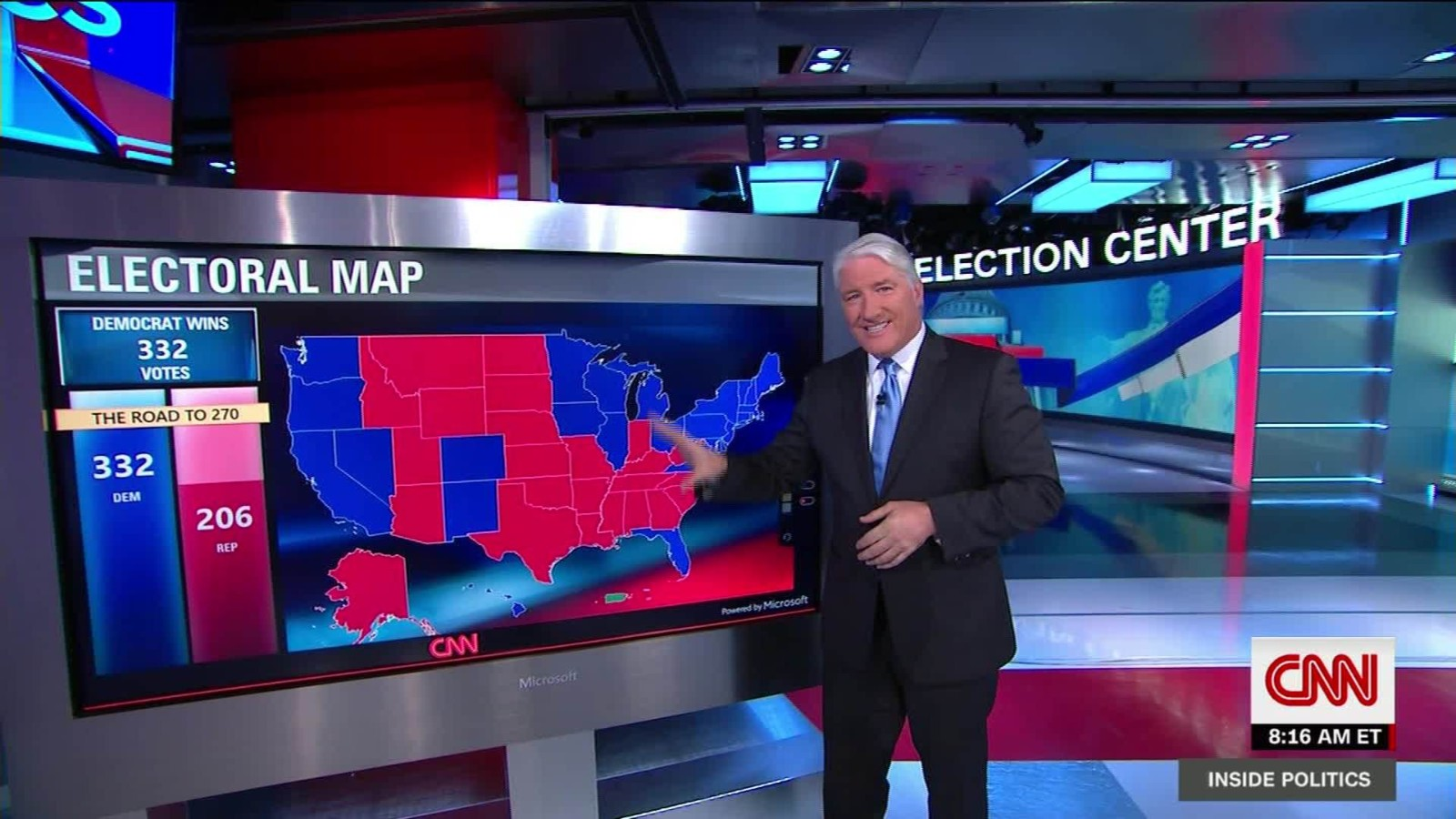 This Is What Trump Hopes The Electoral Map Looks Like CNN Video - Cnn us election map